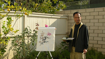 Saturday Chinese Painting Class at BHA Studio in LA