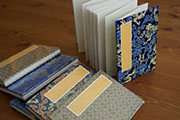 Accordion Book with Fabric Cover #11