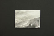 ACEO-L0194 Mountains and River in Mist