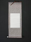 "Blank Hanging Silk Scroll 29""x11"" SM-010"