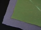 DarK Colored Mulberry Paper with Golden Flakes(27.5x55)