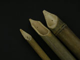 Set of 3 Calame Bamboo Reed Pens