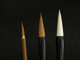 Basic Three(3) Chinese Painting Brushes(All 3)