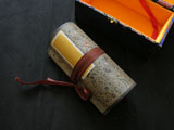 Blank Hand Scroll with Silk Brocade Box(Blue)