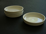 White Ceramic Saucer Palette (sold individually)