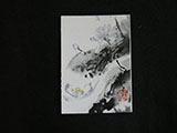 ACEO-F0507 Vertical Lotus Composition E