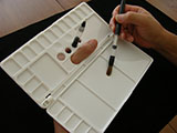 Folding Style Palette for Watercolor Paintings(L)