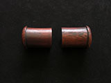 Rosewood dowel knobs for Hanging Scroll (1-3/8) C