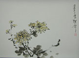 HN0002 The Four Gentlemen Series(2/4) Chrysanthemum