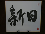 Victoria's Calligraphy on Shikishi Board(included)