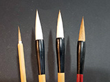Set of Four(4) Basic Chinese Painting Brushes