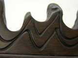 Collectable Rosewood Brush Rest