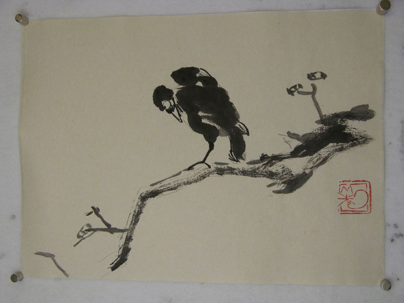 Best sumi e painting images japanese painting