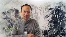 Henry Li's Chinese Painting Class Video(19)