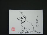 ACEO-A0030 Tuco the Chihuahua