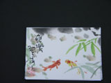 ACEO-A0034 Happy Koi Fish