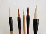 Basic Five(5) Chinese Painting Brushes for CBP