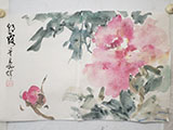 Peony in Morning Mist 9x13