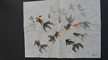 Gift Painting 101 Goldfish painting demos(#2)