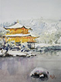 Golden Pavilion (Kinkaku-ji) in the Snow