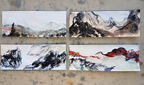 Four Studies of Landscape Painting (2017)