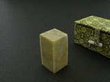 "1""(2.5cm) Qingtian Soapstones for Name Seal"
