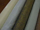 "Iron-on Brocade for dry Mounting silk scroll 34""W"