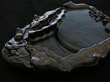 Chengni Ceramic Inktone with Lotus Deco