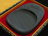 She Ink Stone with Plum Parttern and Gift Box