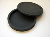 Inkstone Sumi Ink Grinding Stone with Lid