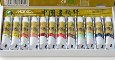 Marie's 12 Color Chinese Painting Colours (Small 5ml)