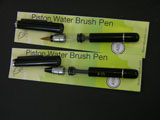Set of 2 Pocket Version Portable Piston Brush Pens