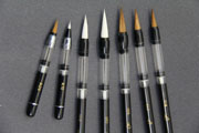 7 Varieties of BHA Piston-filler Water Brushes & Pens