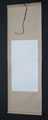 "Plain Hanging Silk Scroll 69""x22""  L-Scroll-#2A"