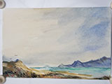 Gift Painting 126 Hand-painted Seascape 6x9 Card #2